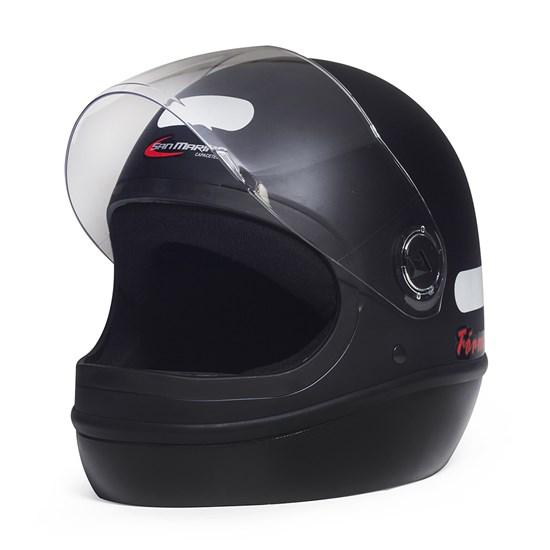 Capacete Fórmula 1 Classic Preto Fosco