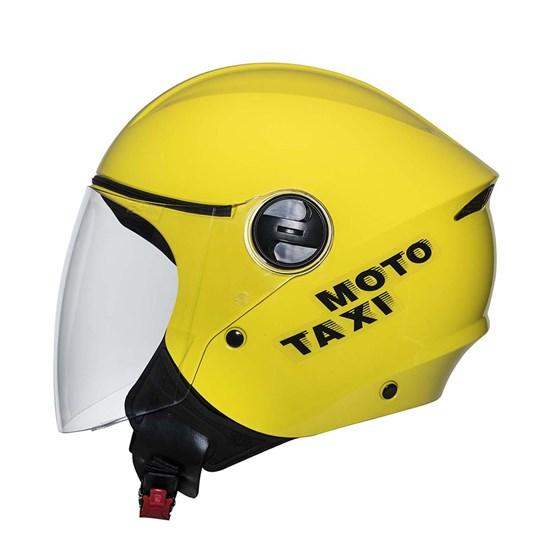 Capacete Joy23 Amarelo Moto Taxi