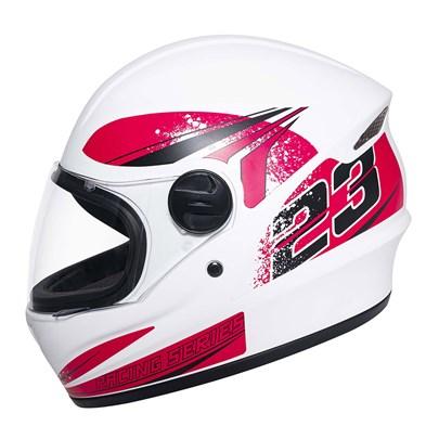 Capacete Joy23 RS Zephyr Branco Fosco Pink
