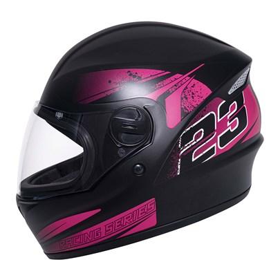 Capacete Joy23 RS Zephyr Preto Fosco Pink
