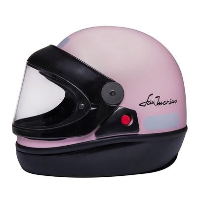 Capacete San Marino Colors Rosa Claro