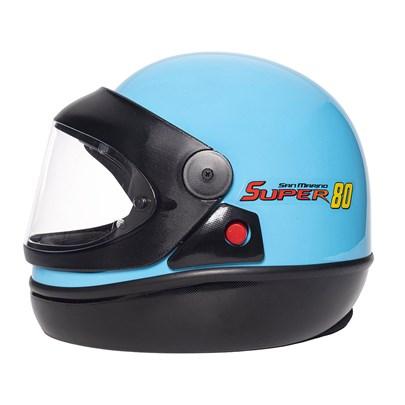 Capacete San Marino Super 80 Azul
