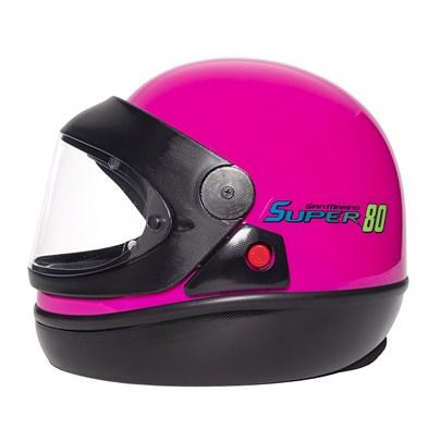 Capacete San Marino Super 80 Pink